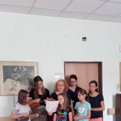 Návštěva v domově senioru -Habrova - srpen 2019